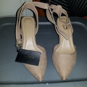 Forever 21 Taupe Pumps